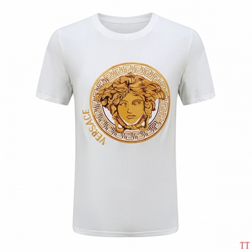 Versace T-Shirts Short Sleeved For Men #852981 $29.00 USD, Wholesale Replica Versace T-Shirts