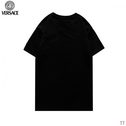 Replica Versace T-Shirts Short Sleeved For Men #852982 $27.00 USD for Wholesale