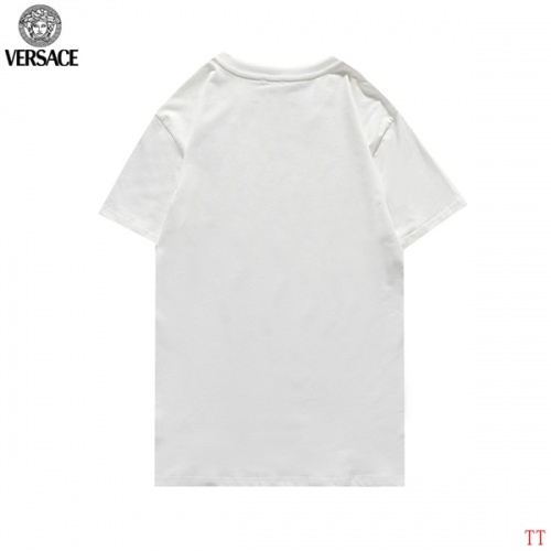 Replica Versace T-Shirts Short Sleeved For Men #852983 $27.00 USD for Wholesale