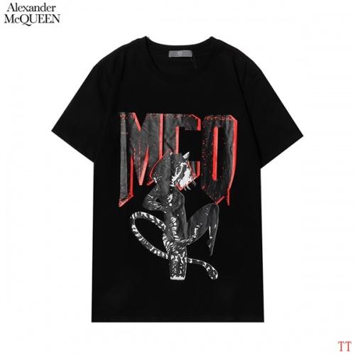 Alexander McQueen T-shirts Short Sleeved For Men #852993