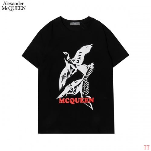 Alexander McQueen T-shirts Short Sleeved For Men #852995