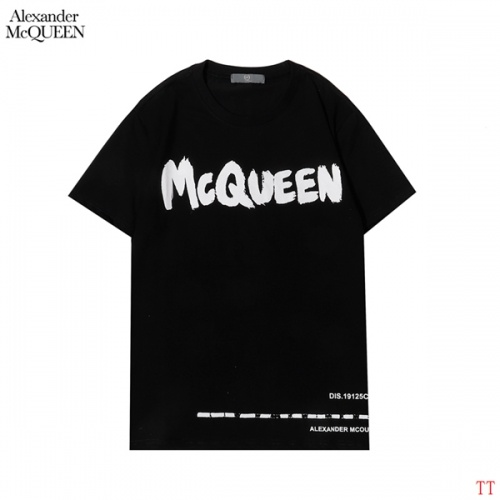 Alexander McQueen T-shirts Short Sleeved For Men #852998