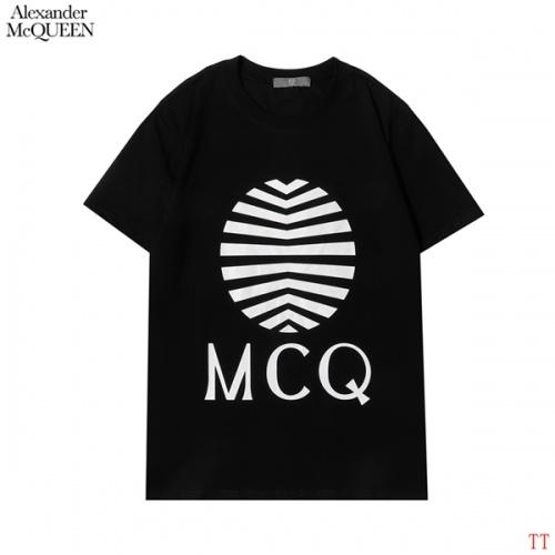 Alexander McQueen T-shirts Short Sleeved For Men #853000