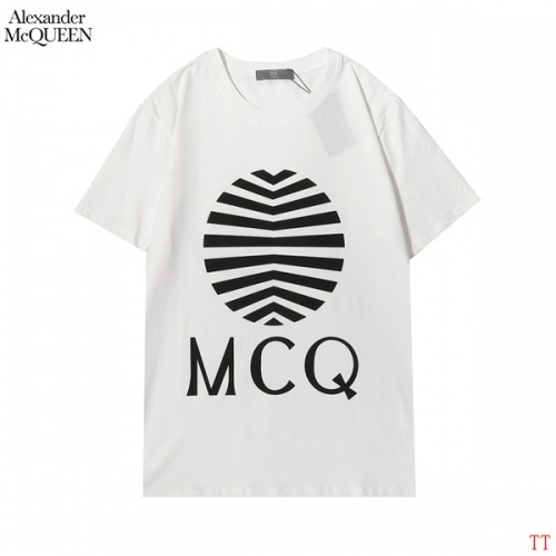 Alexander McQueen T-shirts Short Sleeved For Men #853001