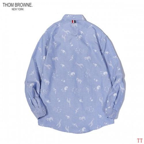 Thom Browne TB Shirts Long Sleeved For Men #853003