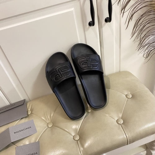 Balenciaga Slippers For Women #853009 $62.00, Wholesale Replica Balenciaga Slippers