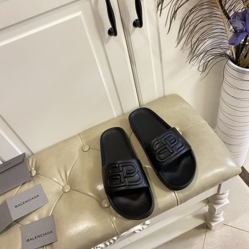 Replica Balenciaga Slippers For Women #853009 $62.00 USD for Wholesale