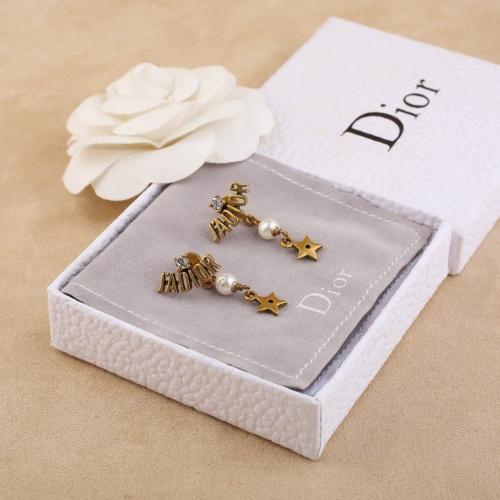 Christian Dior Earrings #853115 $27.00, Wholesale Replica Christian Dior Earrings