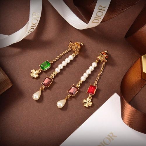 Christian Dior Earrings #853151 $36.00, Wholesale Replica Christian Dior Earrings