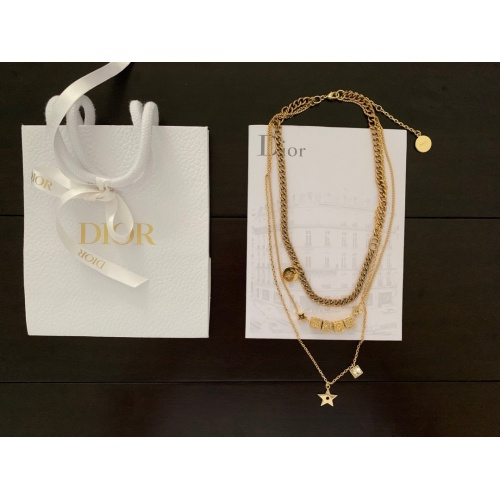 Christian Dior Necklace #853178 $42.00, Wholesale Replica Christian Dior Necklace