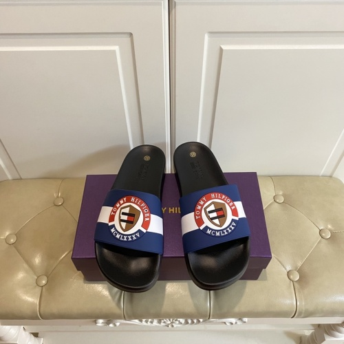 Tommy Hilfiger TH Slippers For Men #853207