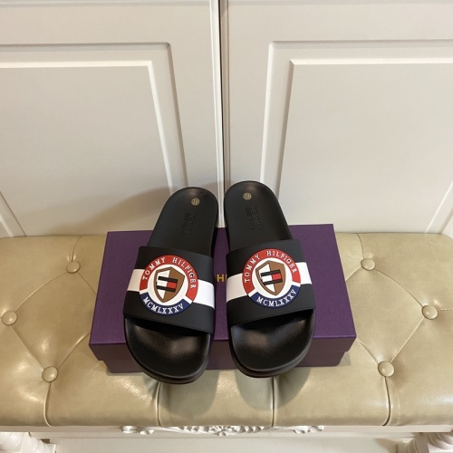 Tommy Hilfiger TH Slippers For Men #853208