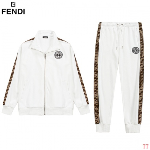 Fendi Tracksuits Long Sleeved For Men #853234