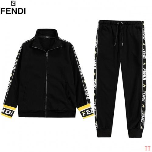 Fendi Tracksuits Long Sleeved For Men #853259