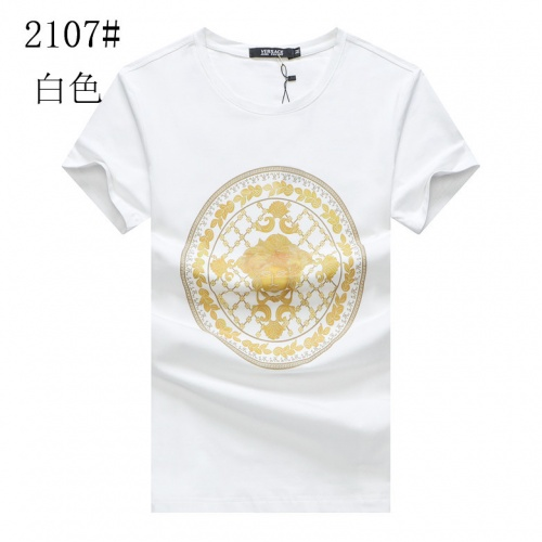Versace T-Shirts Short Sleeved For Men #853288 $24.00 USD, Wholesale Replica Versace T-Shirts