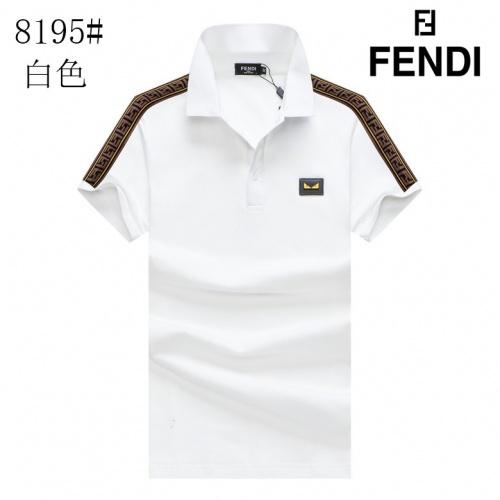 Fendi T-Shirts Short Sleeved For Men #853296