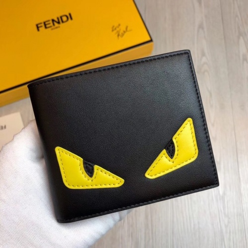 Fendi AAA Man Wallets #853404