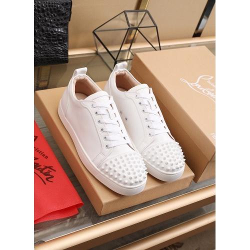 Christian Louboutin Fashion Shoes For Men #853445 $98.00 USD, Wholesale Replica Christian Louboutin Fashion Shoes