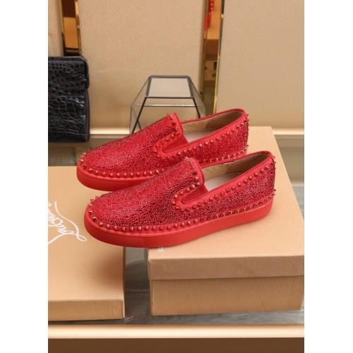 Replica Christian Louboutin Fashion Shoes For Men #853450 $98.00 USD for Wholesale