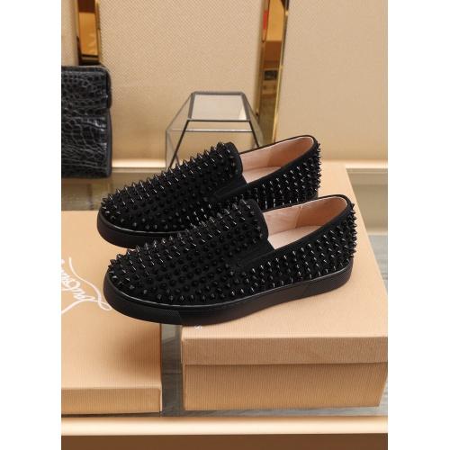 Replica Christian Louboutin Fashion Shoes For Men #853459 $98.00 USD for Wholesale