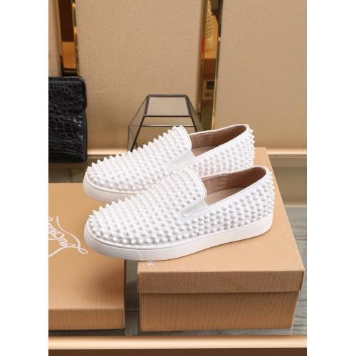 Replica Christian Louboutin Fashion Shoes For Men #853460 $98.00 USD for Wholesale