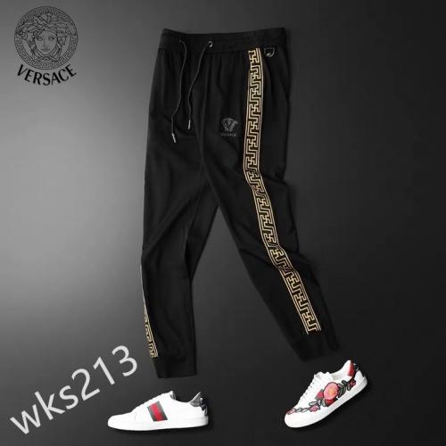 Replica Versace Pants For Men #853545 $42.00 USD for Wholesale