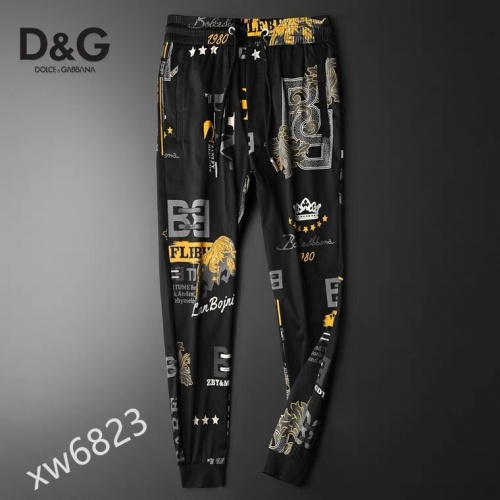 Replica Dolce & Gabbana D&G Pants For Men #853563 $42.00 USD for Wholesale