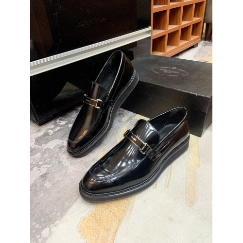 Prada Leather Shoes For Men #853590