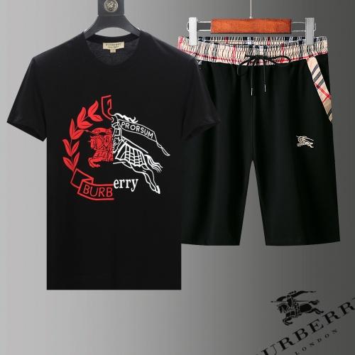 Burberry Tracksuits Short Sleeved For Men #853745