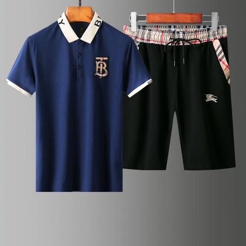 Burberry Tracksuits Short Sleeved For Men #853760