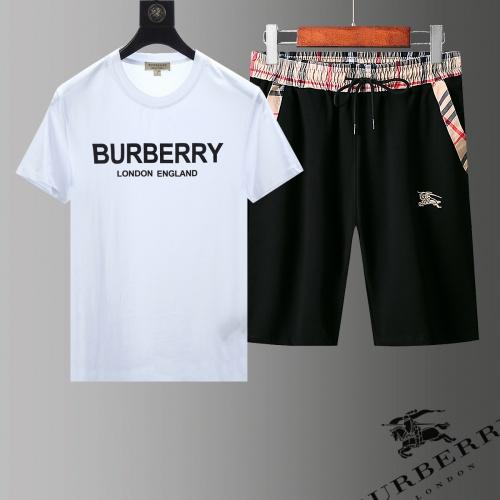 Burberry Tracksuits Short Sleeved For Men #853775