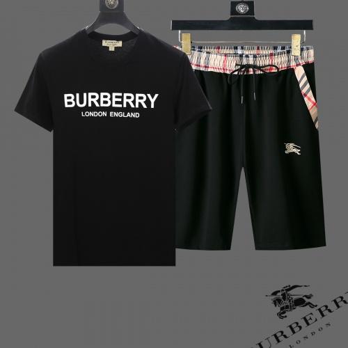 Burberry Tracksuits Short Sleeved For Men #853776