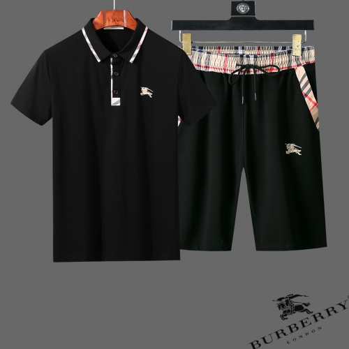 Burberry Tracksuits Short Sleeved For Men #853778