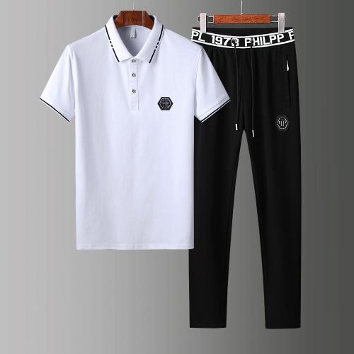 Philipp Plein PP Tracksuits Short Sleeved For Men #853793