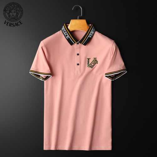 Versace T-Shirts Short Sleeved For Men #853809 $38.00 USD, Wholesale Replica Versace T-Shirts