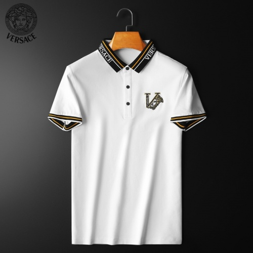 Versace T-Shirts Short Sleeved For Men #853810