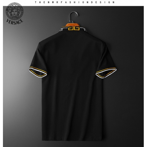 Replica Versace T-Shirts Short Sleeved For Men #853811 $38.00 USD for Wholesale