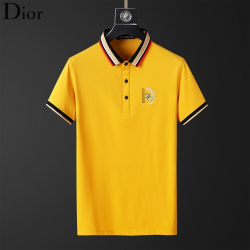 Christian Dior T-Shirts Short Sleeved For Men #853819