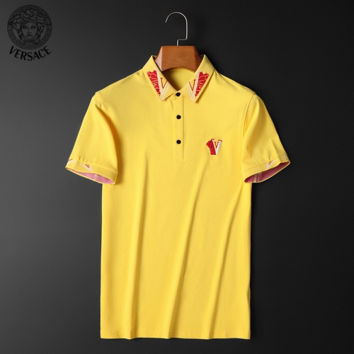 Versace T-Shirts Short Sleeved For Men #853851 $38.00 USD, Wholesale Replica Versace T-Shirts