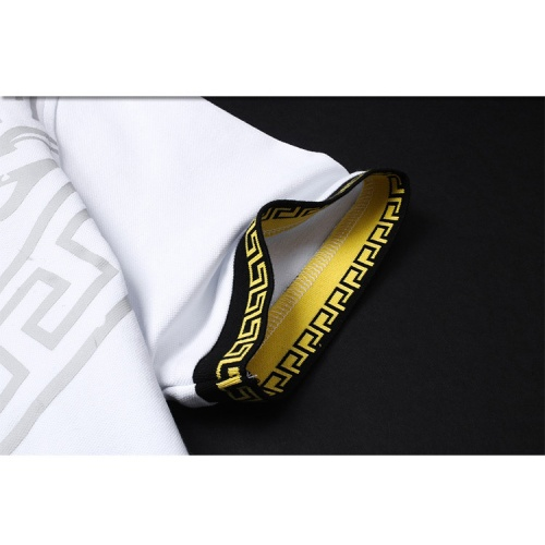 Replica Versace T-Shirts Short Sleeved For Men #853853 $38.00 USD for Wholesale