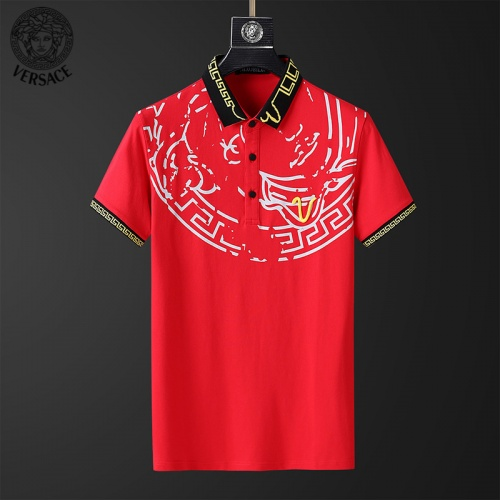 Versace T-Shirts Short Sleeved For Men #853856