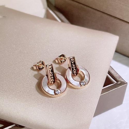 Bvlgari Earrings #854208 $39.00, Wholesale Replica Bvlgari Earrings