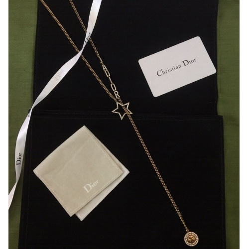 Christian Dior Necklace #854242 $42.00, Wholesale Replica Christian Dior Necklace
