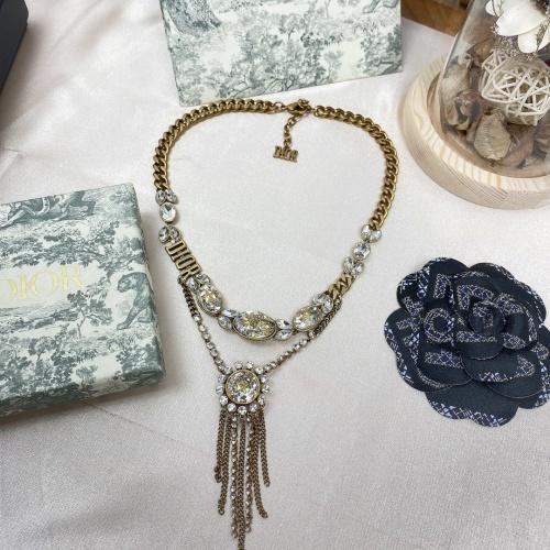 Christian Dior Necklace #854251 $72.00 USD, Wholesale Replica Christian Dior Necklace