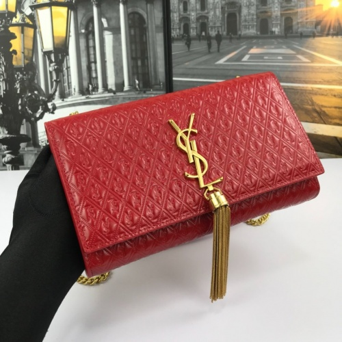 Replica Yves Saint Laurent YSL AAA Messenger Bags For Women #854298 $98.00 USD for Wholesale