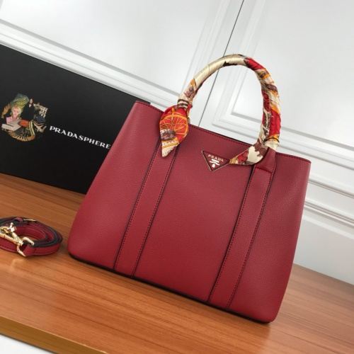 Prada AAA Quality Handbags For Women #854324