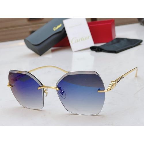 Cartier AAA Quality Sunglasses #854335