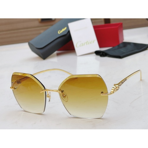 Cartier AAA Quality Sunglasses #854337