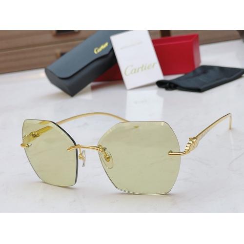 Cartier AAA Quality Sunglasses #854338