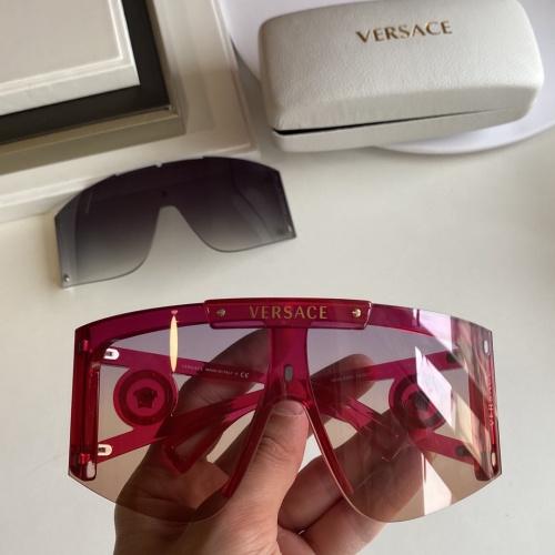 Versace AAA Quality Sunglasses #854358 $60.00 USD, Wholesale Replica Versace AAA+ Sunglasses